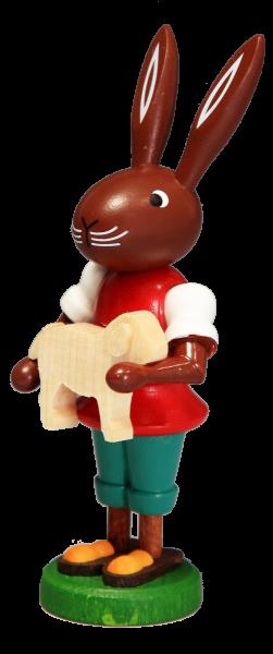 Osterhase mit Lamm