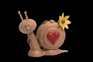 Räucherschnecke mit Herz