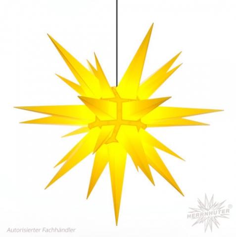 Herrnhuter Stern® einfarbig gelb