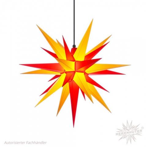 Herrnhuter Stern® zweifarbig (gelb & rot)