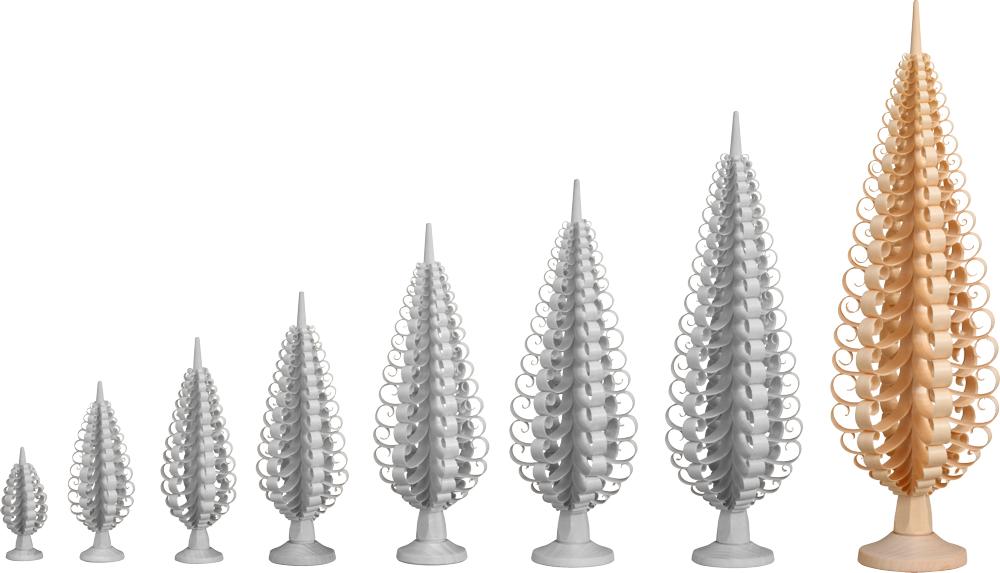 Spanbäume in verschiedenen Größen