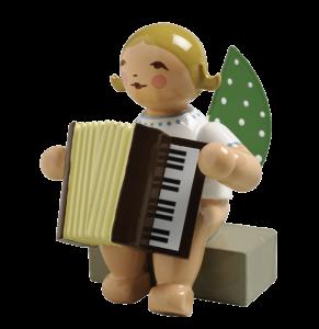 Wendt & Kühn Figur Engel mit Akkordeon