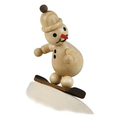 """Schneemann Junior """"auf Schneewehe"""" mit Mütze - 1"""