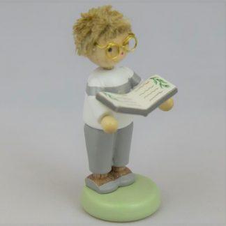 Junge mit Kräuterbuch - 1