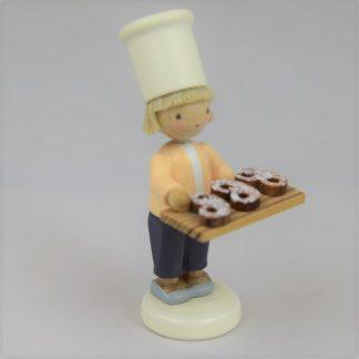 Kleiner Bäcker mit Brezeln - 1
