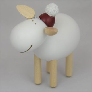Schaf stehend, lachend weiß - 2