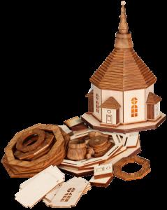 Bausatz Bastelset Seiffener Kirche