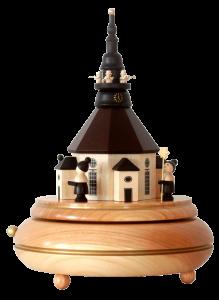 Spieluhr Seiffener Kirche