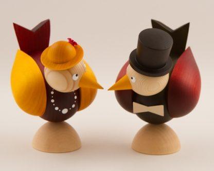 Vogel-Brautpaar